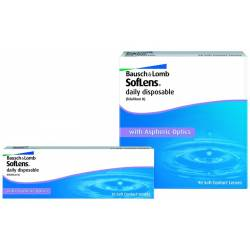 lentillas SOFLENS DAILY DISPOSABLE PACK DE 90