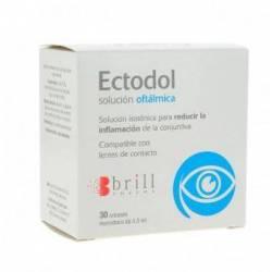ECTODOL SOLUCION OFTALMICA 30 ENVASES DE 0,5 ML