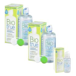 Pack Biotrue 2 x 300 ml + 60 ml de regalo