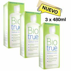 Biotrue, Pack de 3 x 480 ml