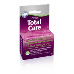 Liquido lentillas TOTAL CARE TABLETAS, 10 TAB