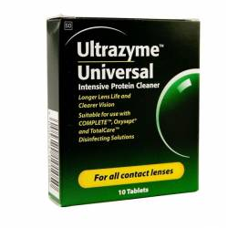 Liquido lentillas ULTRAZYME 10 TABLETAS