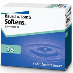 lentillas SOFLENS 38, PACK DE 6