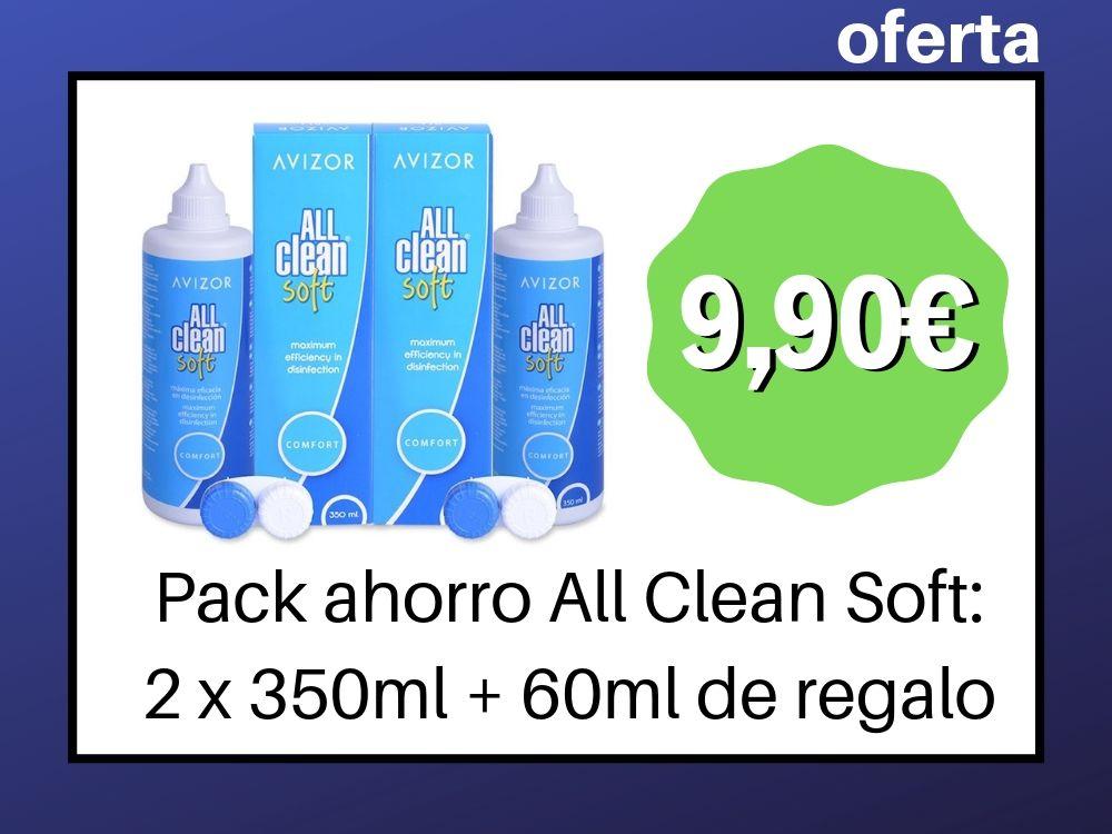 Promocion All Clean Soft, Pack de 2
