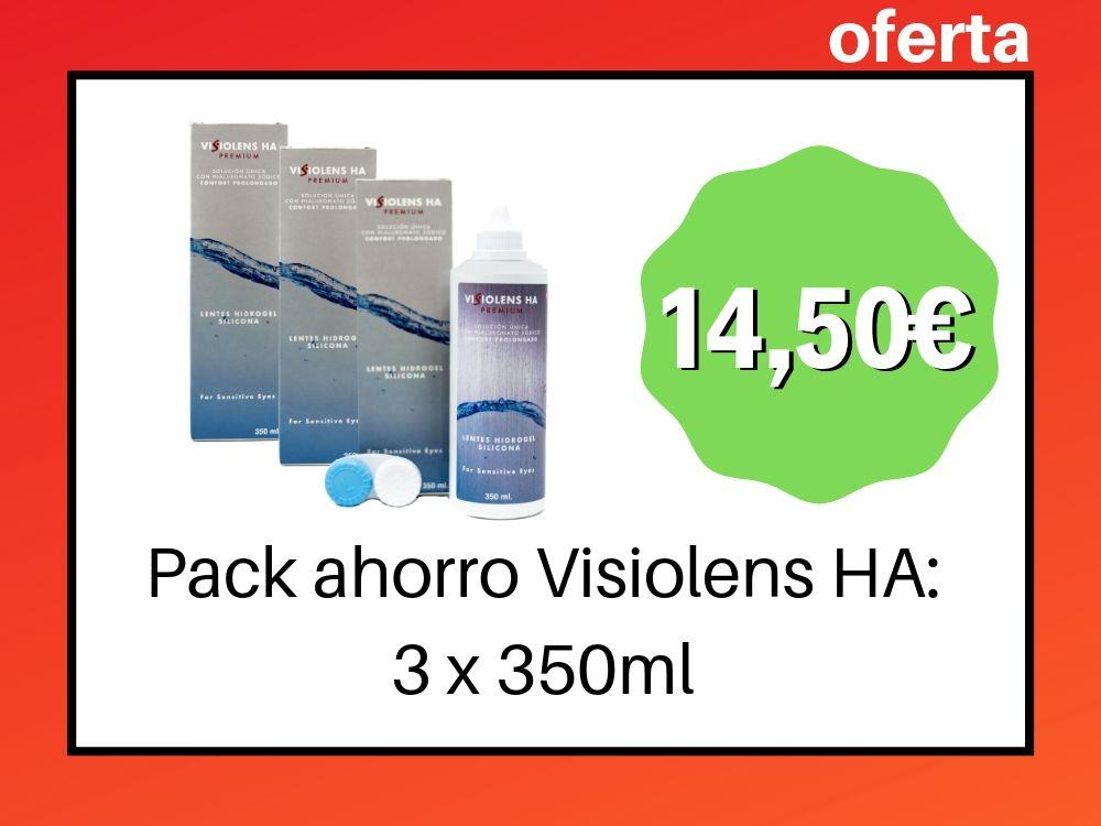 Pack Ahorro Visiolens HA, Pack de 3