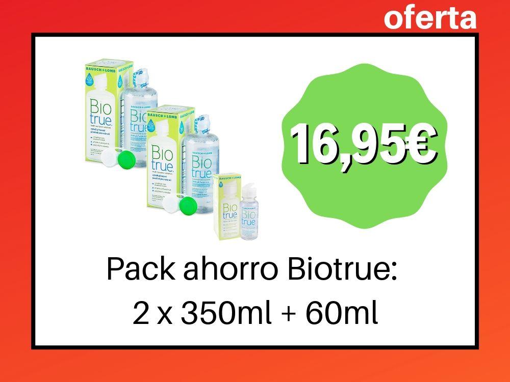Pack Biotrue 2 x 300ml
