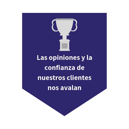 La confianza de nuestros clientes nos avala